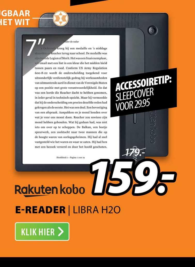 Expert Rakuten Kobo E-Reader | Libra H2O