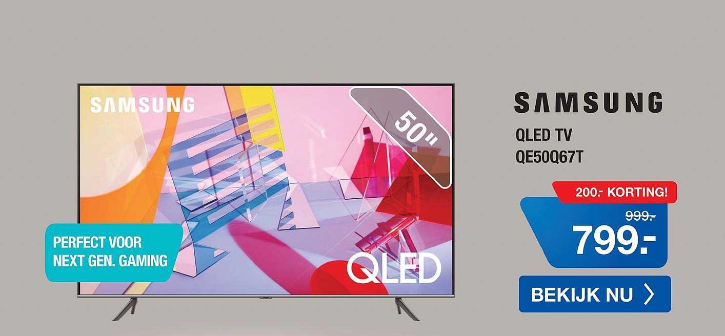 Electro World Samsung QLED TV QE50Q67T