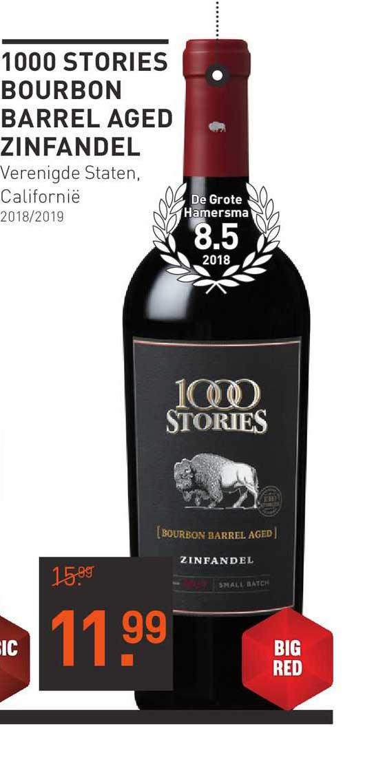Gall & Gall 1000 Stories Bourbon Barrel Aged Zinfandel