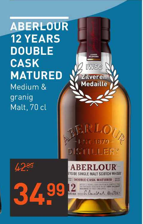 Gall & Gall Aberlour 12 Years Double Cask Matured