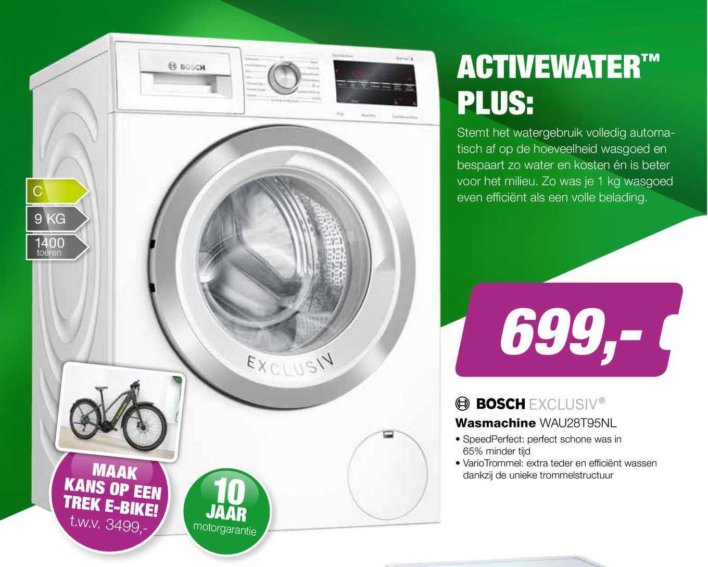 EP Bosch Wasmachine WAU28T95NL