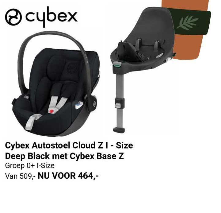 Van Asten Cybex Autostoel Cloud Z I -Size Deep Black Met Cybex Base Z