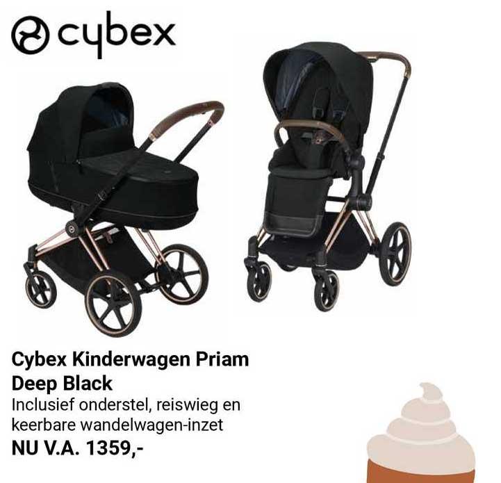 Van Asten Cybex Kinderwagen Priam Deep Black