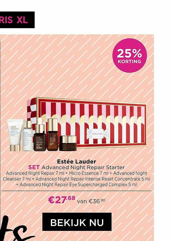 ICI PARIS XL Estée Lauder Advanced Night Repair Starter 25% Korting