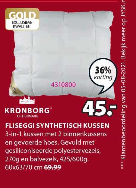 Jysk Fliseggi Synthetisch Kussen 36% Korting