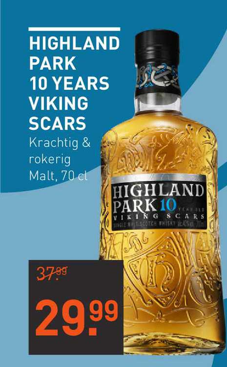 Gall & Gall Highland Park 10 Years Viking Scars