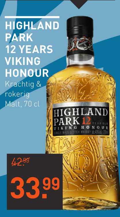Gall & Gall Highland Park 12 Years Viking Honour