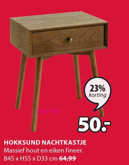 Jysk Hokksund Nachtkastje 23% Korting