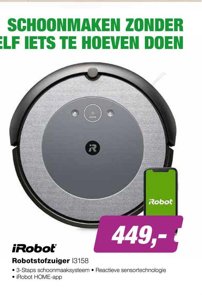 EP IRobot Robotstofzuiger I3158