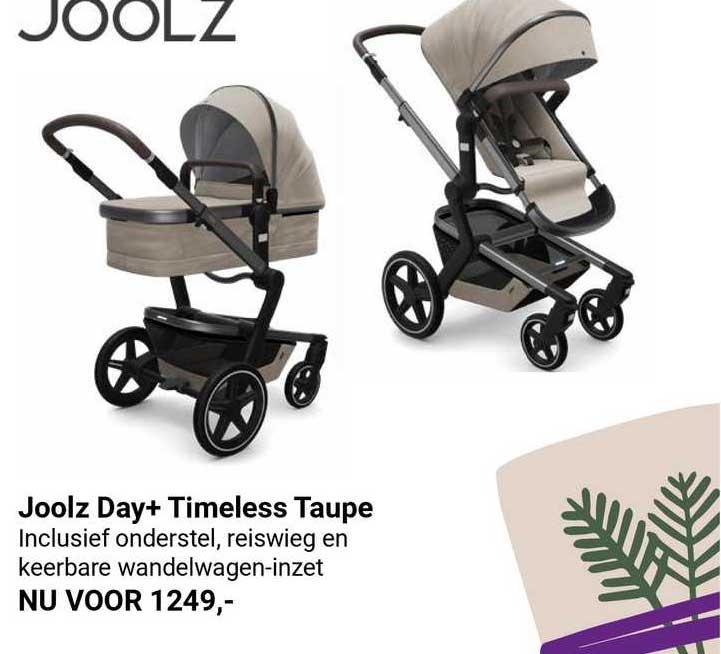 Van Asten Joolz Day+ Timeless Taupe Kinderwagen