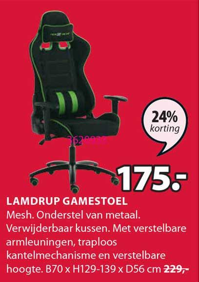 Jysk Lamdrup Gamestoel 24% Korting