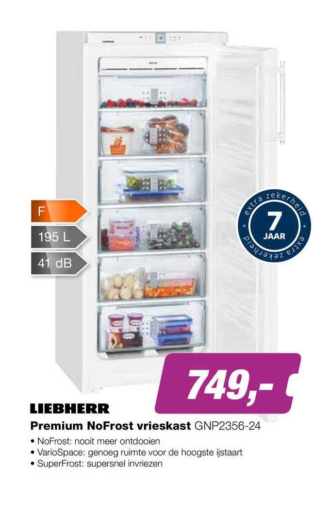 EP Liebherr Premium NoFrost Vrieskast GNP2356-24
