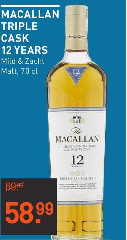 Gall & Gall Macallan Triple Cask 12 Years