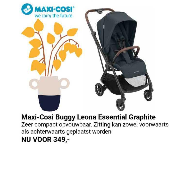Van Asten Maxi-Cosi Buggy Leona Essential Graphite