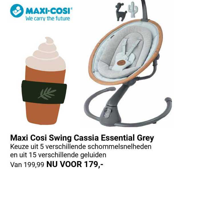 Van Asten Maxi Cosi Swing Cassia Essential Grey