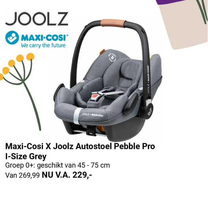 Van Asten Maxi-Cosi X Joolz Autostoel Pebble Pro I-Size Grey