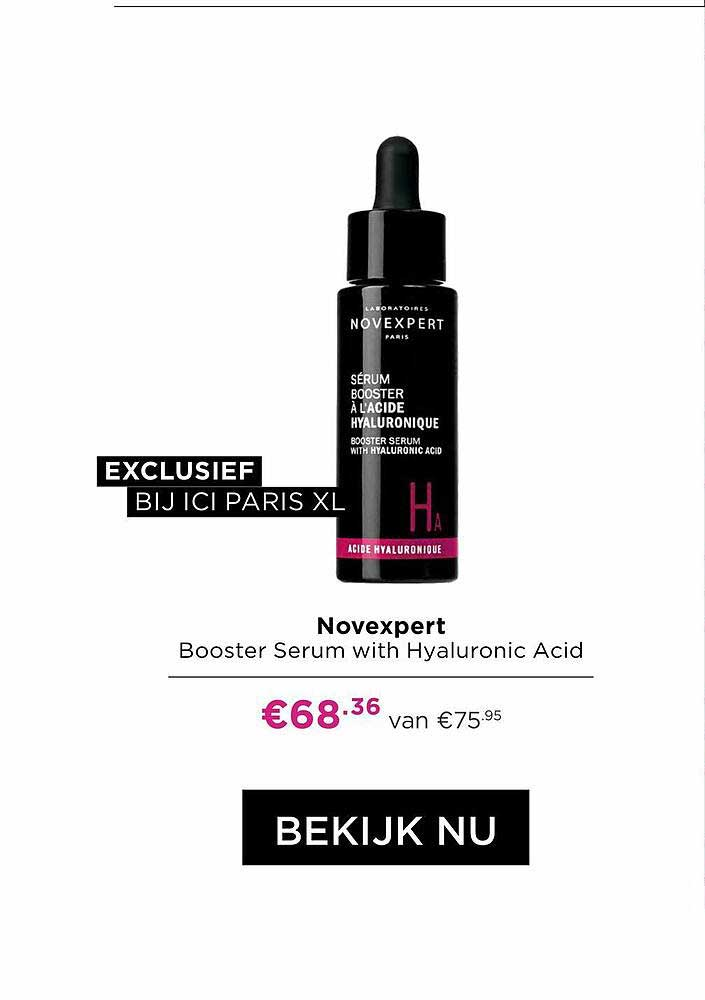 ICI PARIS XL Novexpert Booster Serum With Hyaluronic Acid