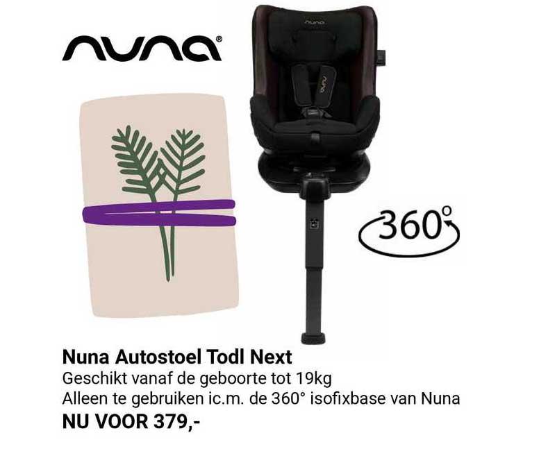 Van Asten Nuna Autostoel Todl Next