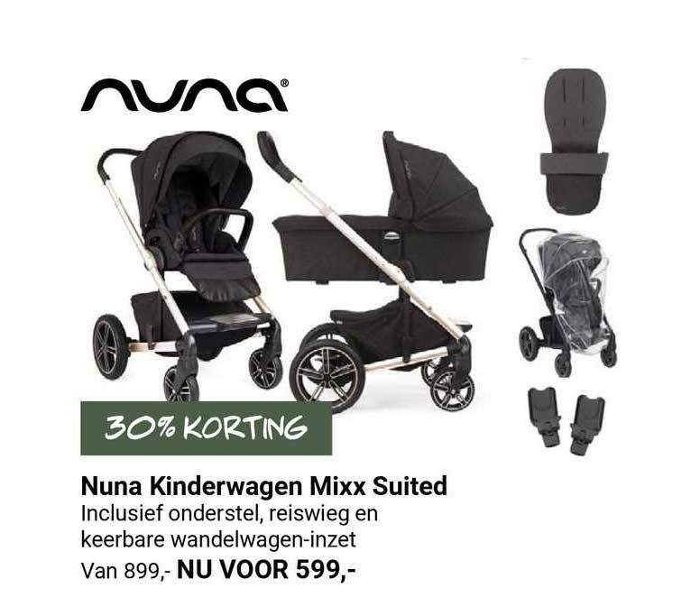 Van Asten Nuna Kinderwagen Mixx Suited 30% Korting