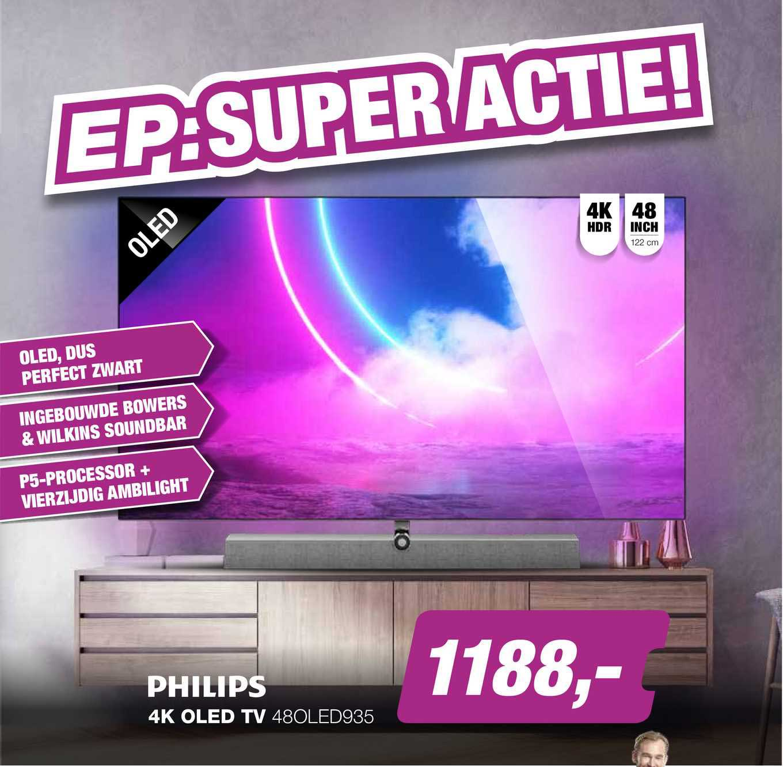 EP Philips 4K OLED TV 48OLED935