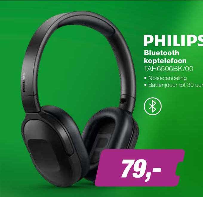 EP Philips Bluetooth Koptelefoon TAH6506BK-00