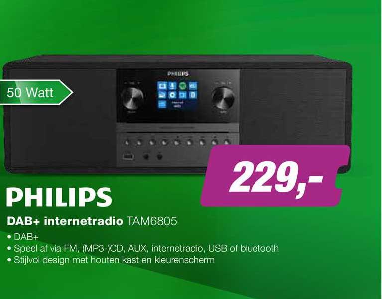 EP Philips DAB+ Internetradio Tam6805