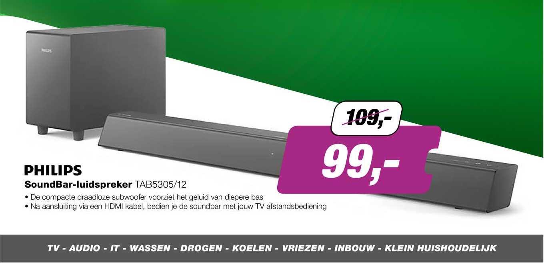 EP Philips Soundbar-Luidspreker TAB5305-12