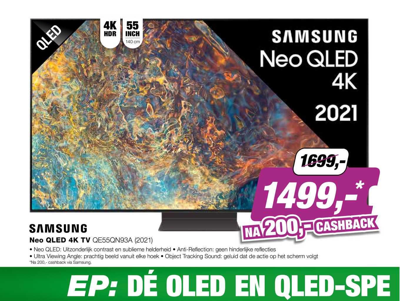 EP Samsung Neo QLED 4K TV QE55QN93A (2021)