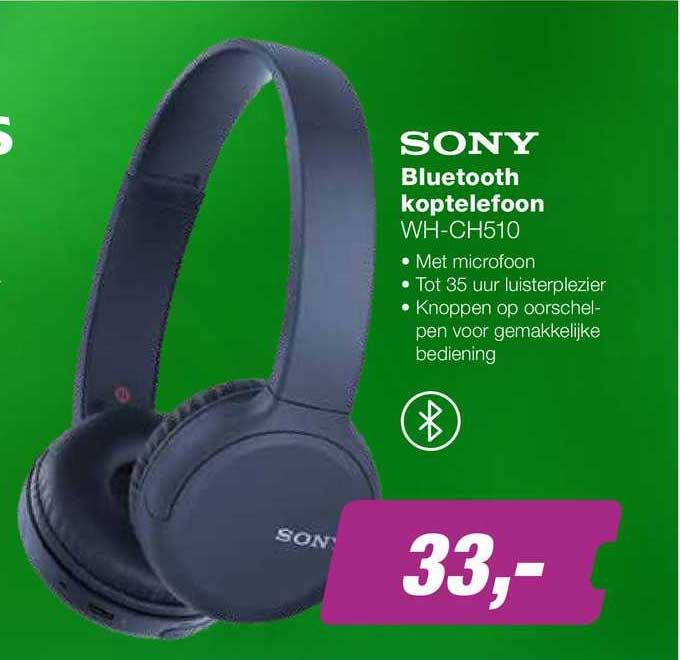 EP Sony Bluetooth Koptelefoon WH-CH510