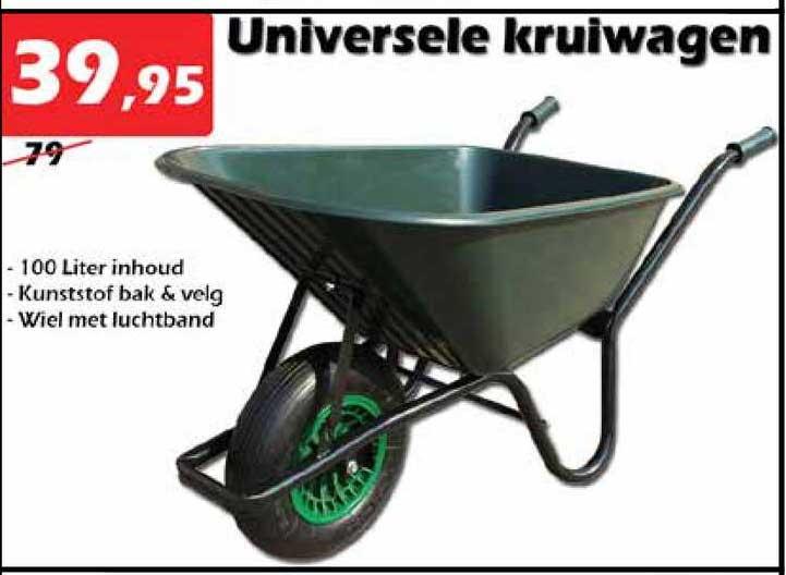 ITEK Universele Kruiwagen