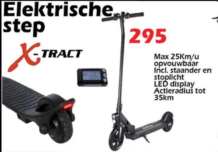 ITEK X-Tract Elektrische Step