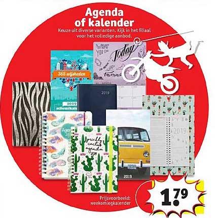 Kruidvat Agenda Of Kalender