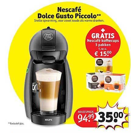 Kruidvat Nescafe Dolce Gusto Piccolo