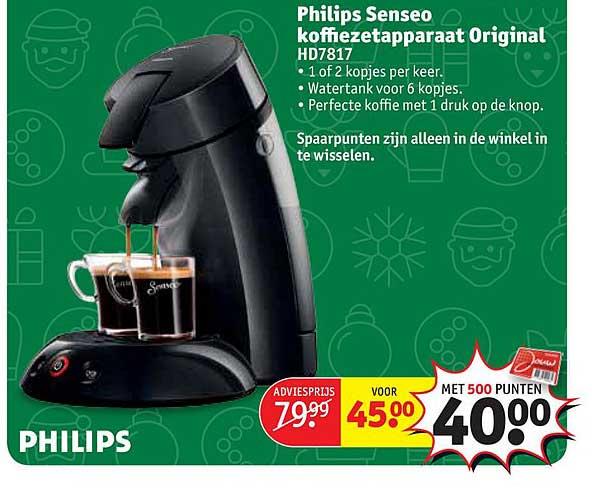 Kruidvat Philips Senseo Koffiezetapparaat Original