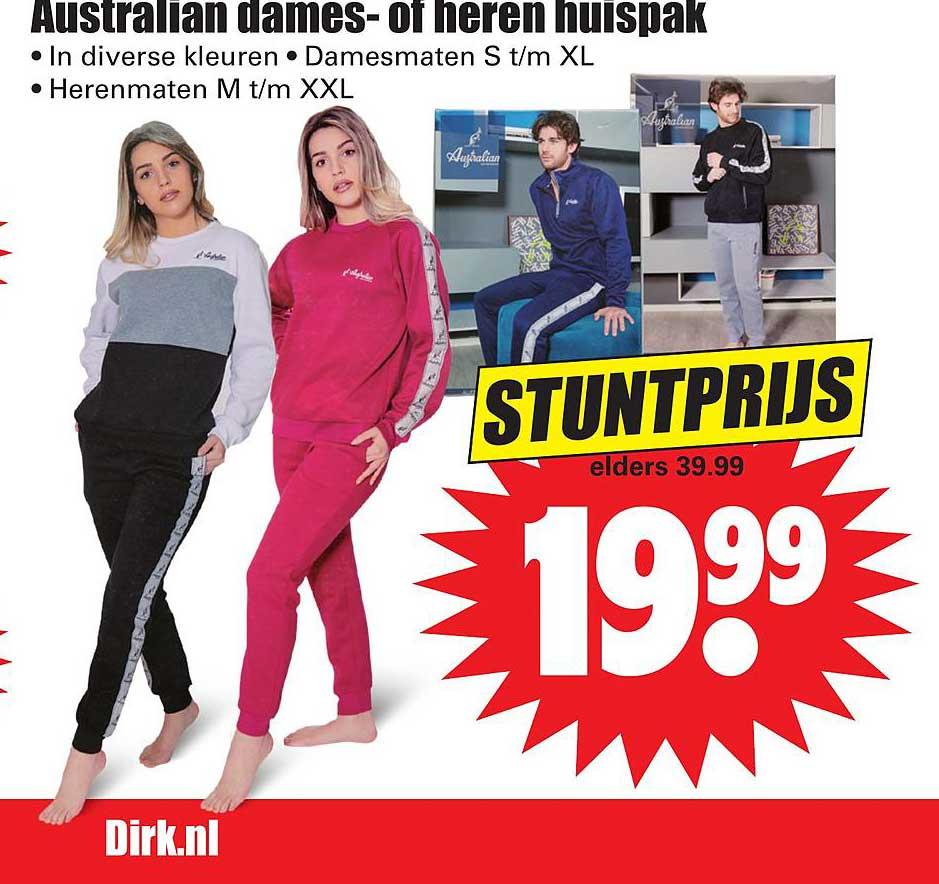 Dirk Australian Dames- Of Heren Huispak