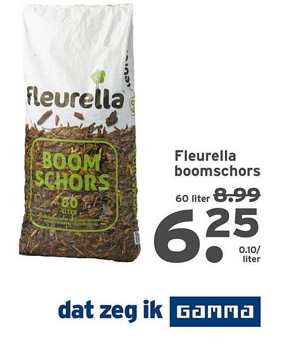 Gamma Fleurella Boomschors