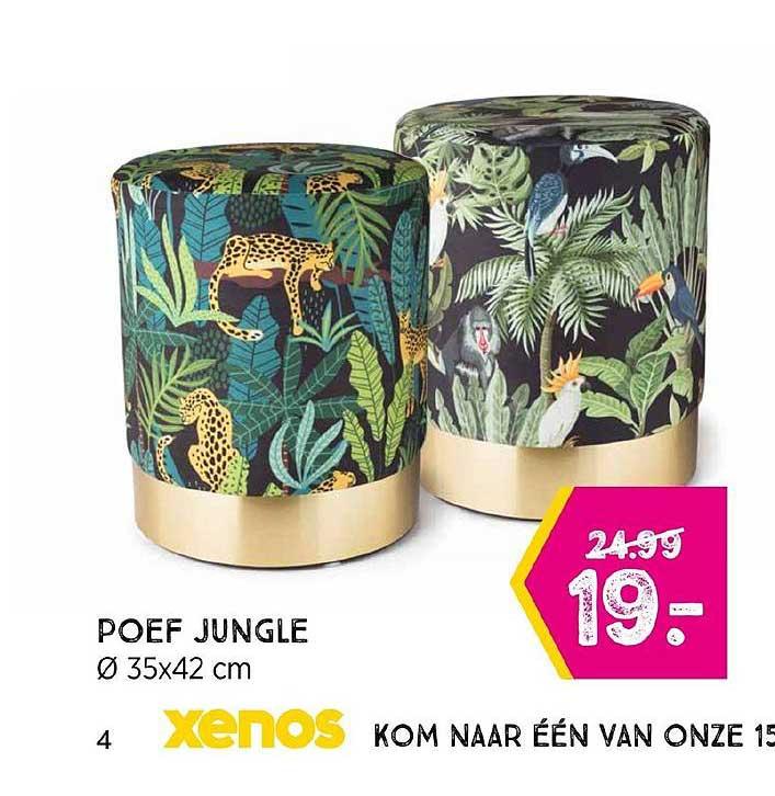 Xenos Poef Jungle