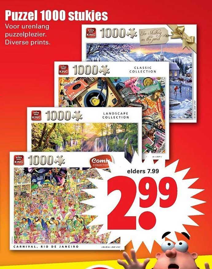 Dirk Puzzel 1000 Stukjes