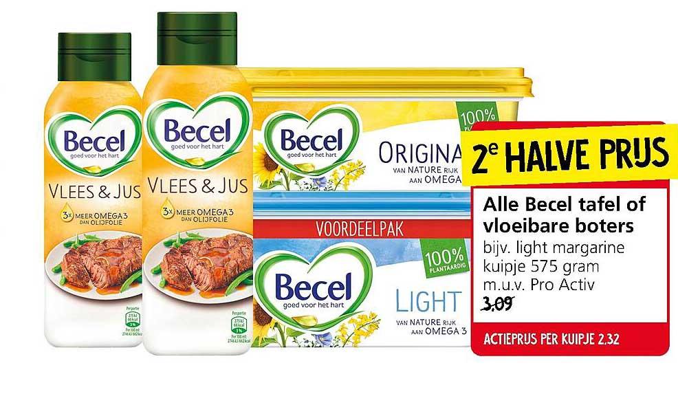 Jan Linders Alle Becel Tafel Of Vloiebare Boters