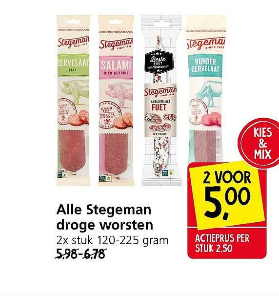 Jan Linders Alle Stegeman Droge Worsten