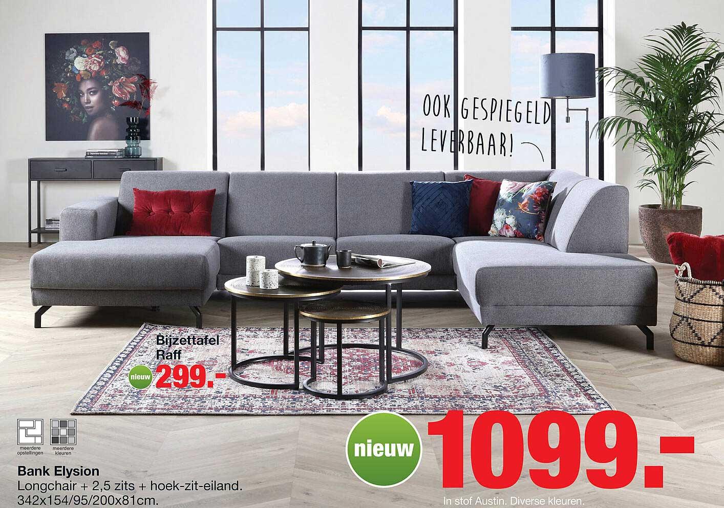 Budget Home Store Bijzettafel Raff Of Bank Elysion