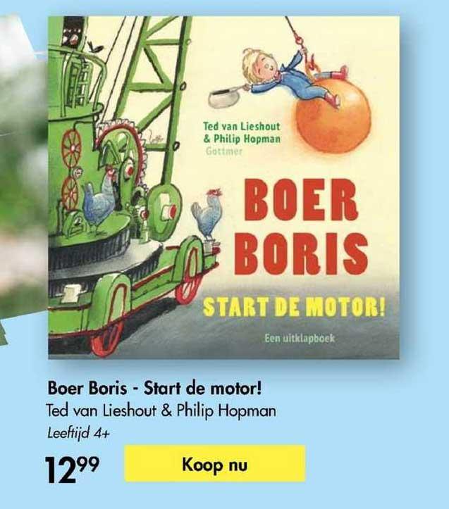 The Read Shop Boer Boris - Start De Motor! - Ted Van Loeshout & Philip Hopman