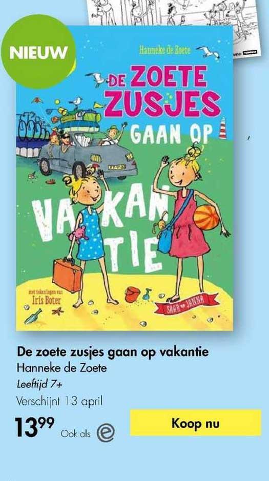 The Read Shop De Zoete Zusjes Gaan Op Vakantie - Hanneke De Zoete