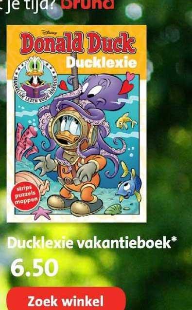 Bruna Ducklexie Vakantieboek