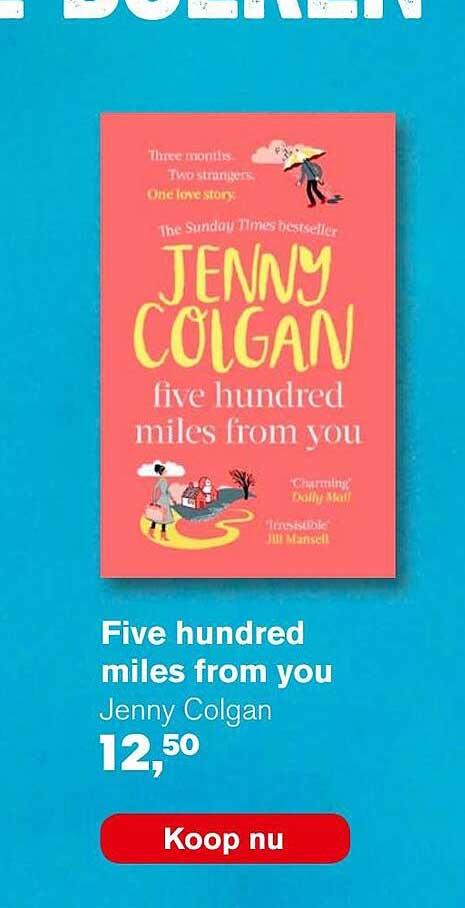 AKO Five Hundred Miles From You - Jenny Colgan