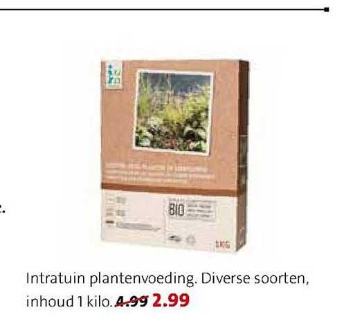 Intratuin Intratuin Plantenvoeding