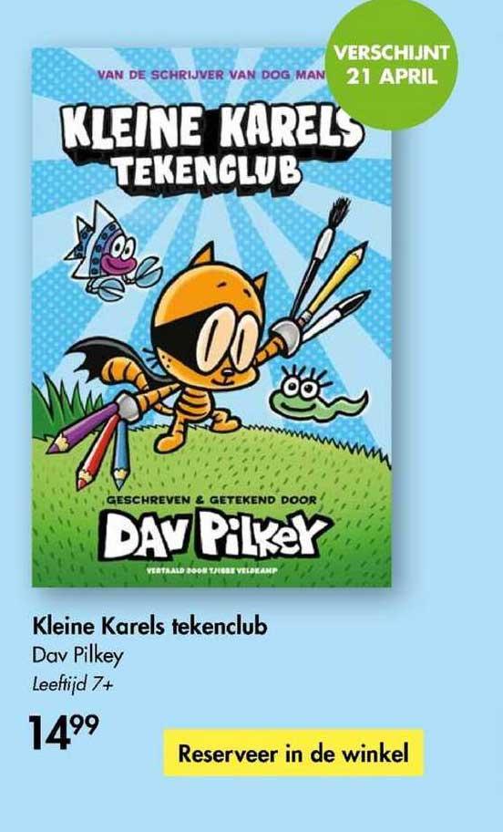 The Read Shop Kleine Karels Tekenclub - Dav Pilkey