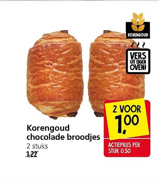 Jan Linders Korengoud Chocolade Broodjes