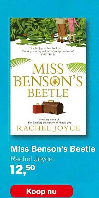 AKO Miss Benson's Beetle - Rachel Joyce