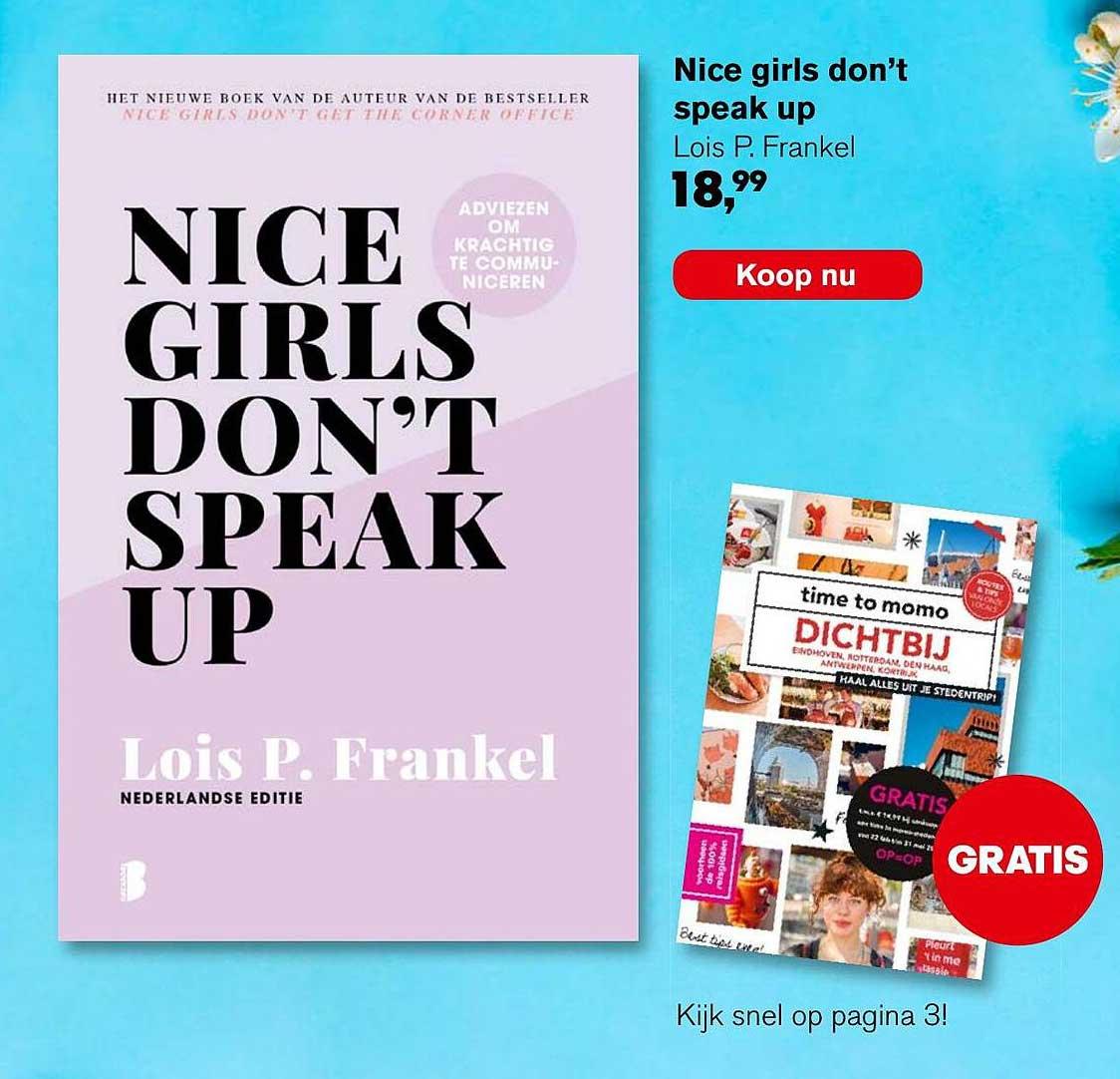 AKO Nice Girls Don't Speak Up - Lois P. Frankel